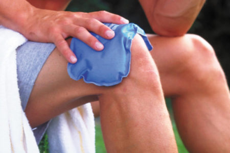 Разрыв связок колена