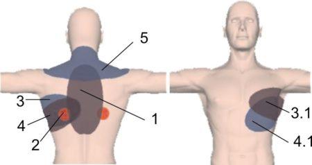 Колит в области сердца когда ложусь на левый бок